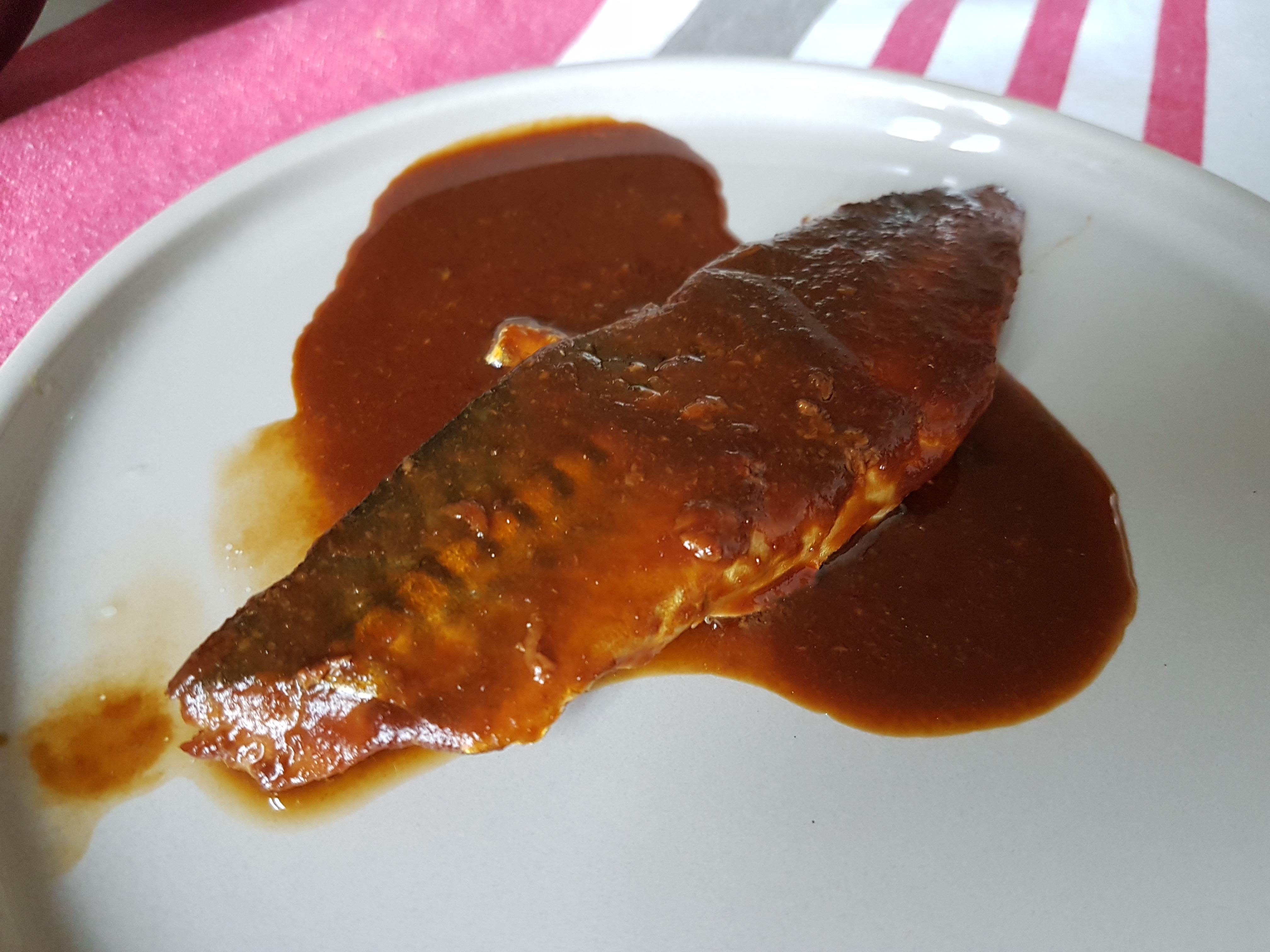 鯖の味噌煮 Saba no misoni, Maquereau mijoté au miso 味噌煮鯖魚
