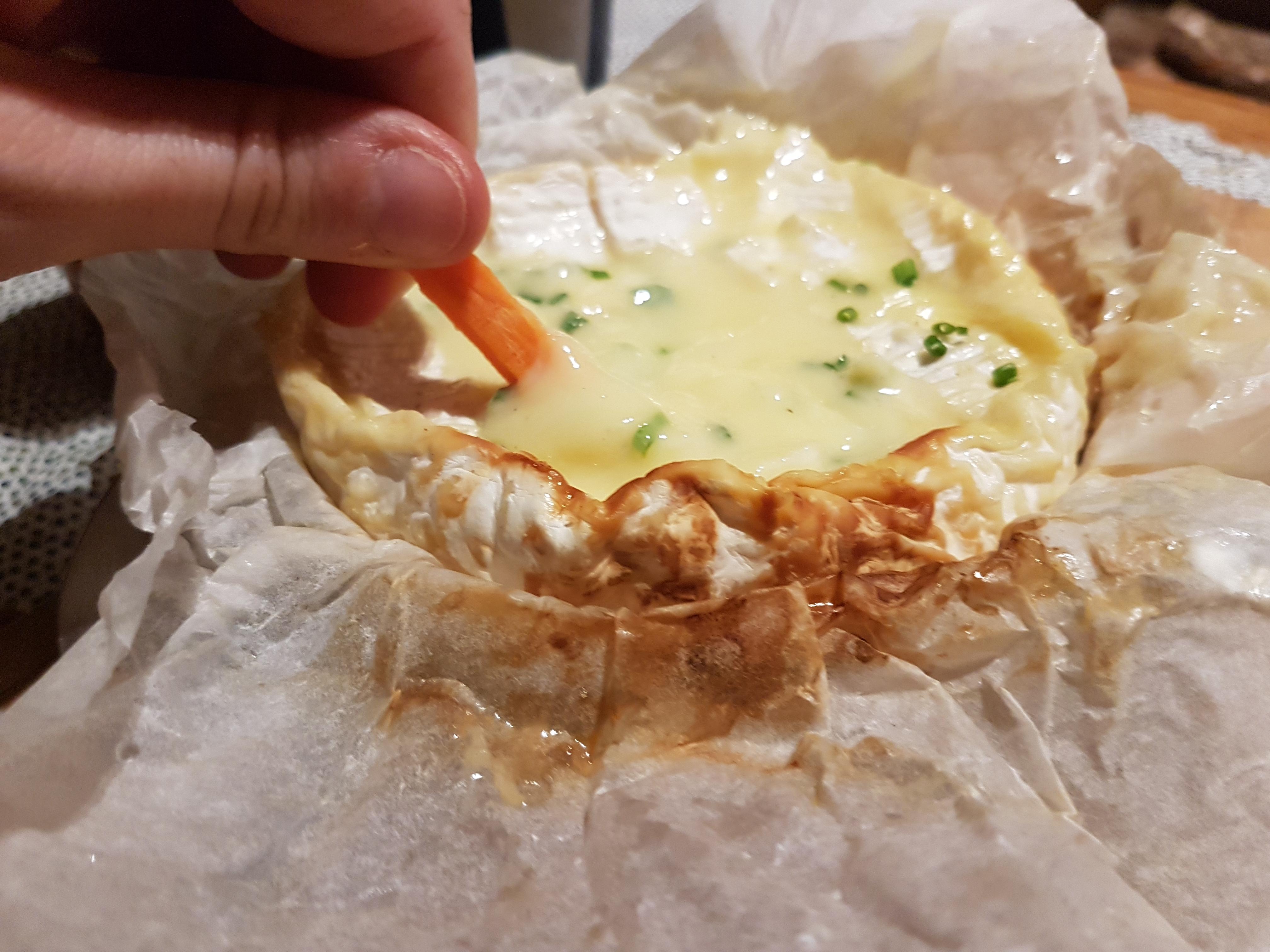 Camembert rôti 烤卡芒貝爾乾酪