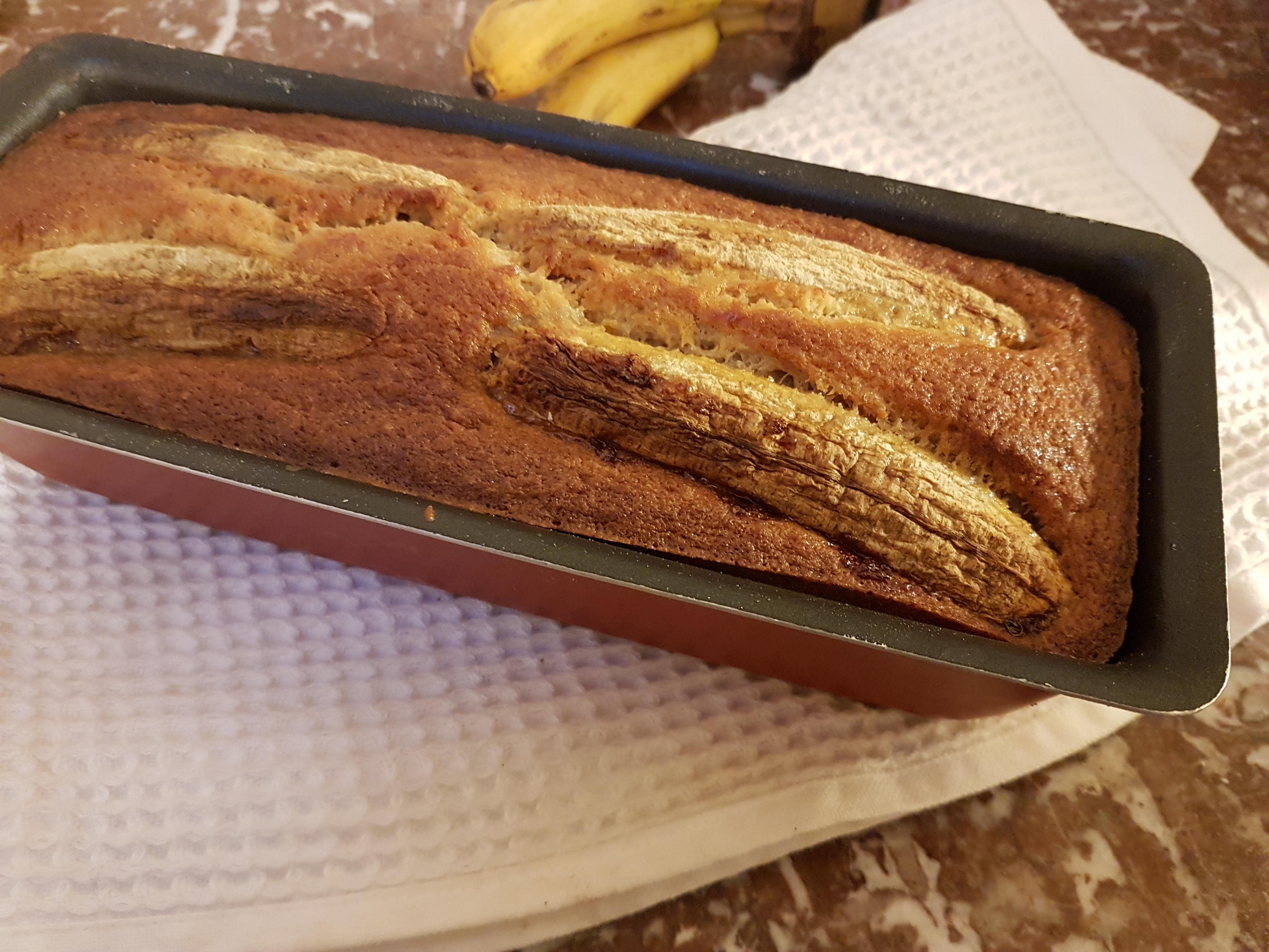 Banana bread à l'okara 豆渣香蕉麵包